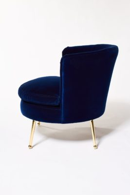 Alternate view 3 of Mabel Blue Velvet Side Chair