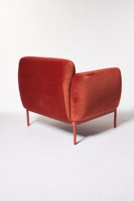 Alternate view 4 of Roma Velvet Armchair