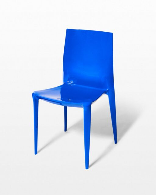 Front view of Ultra Blue Chair