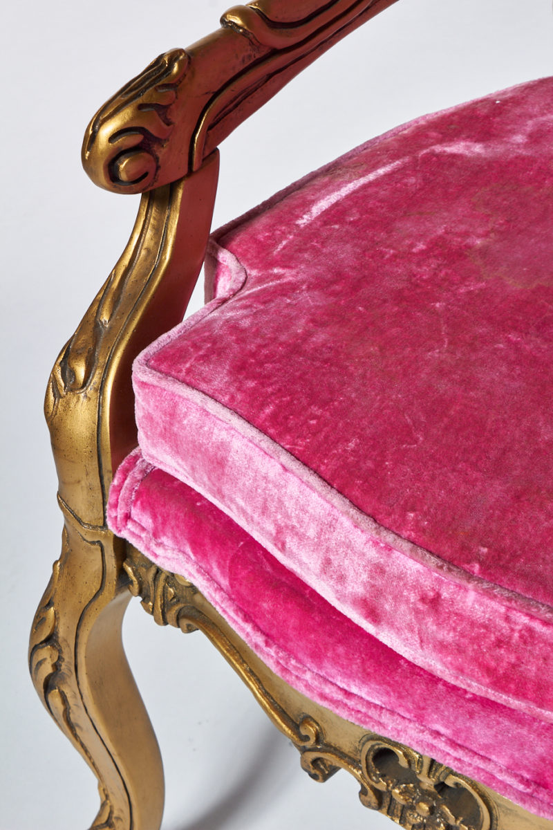 Alternate view 3 of Crest Pink Throne Chair
