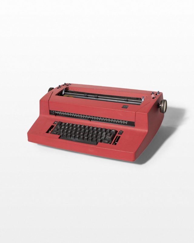 Front view of Hunter Typewriter