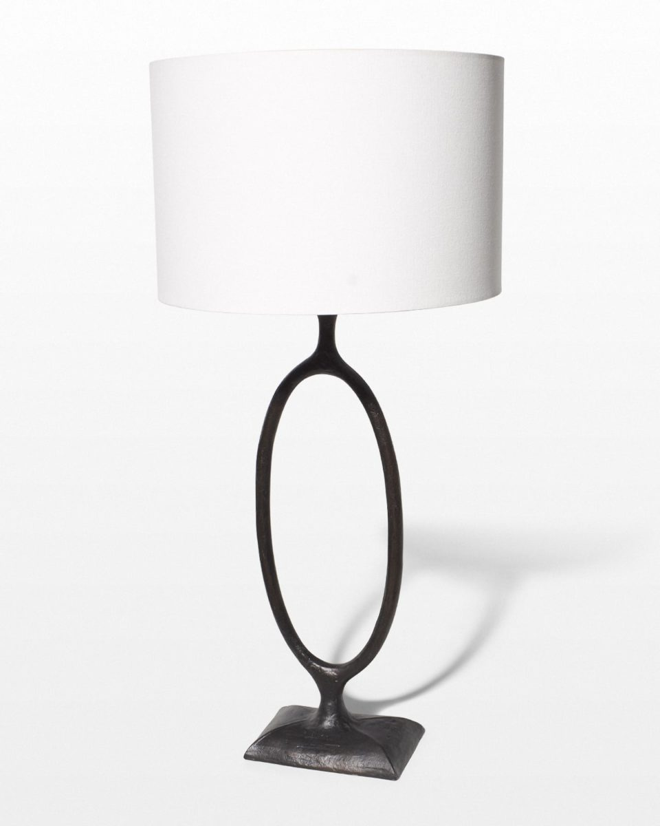 Front view of Cabbot Table Lamp