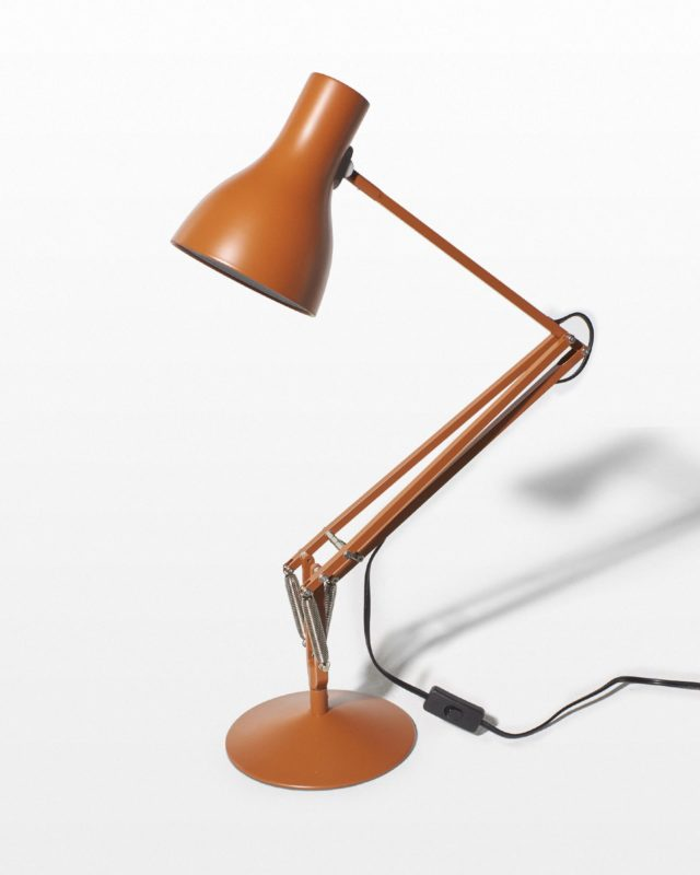 Front view of Anchor Brown Task Lamp