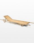Front view thumbnail of Norman Antique Military Cot Stretcher