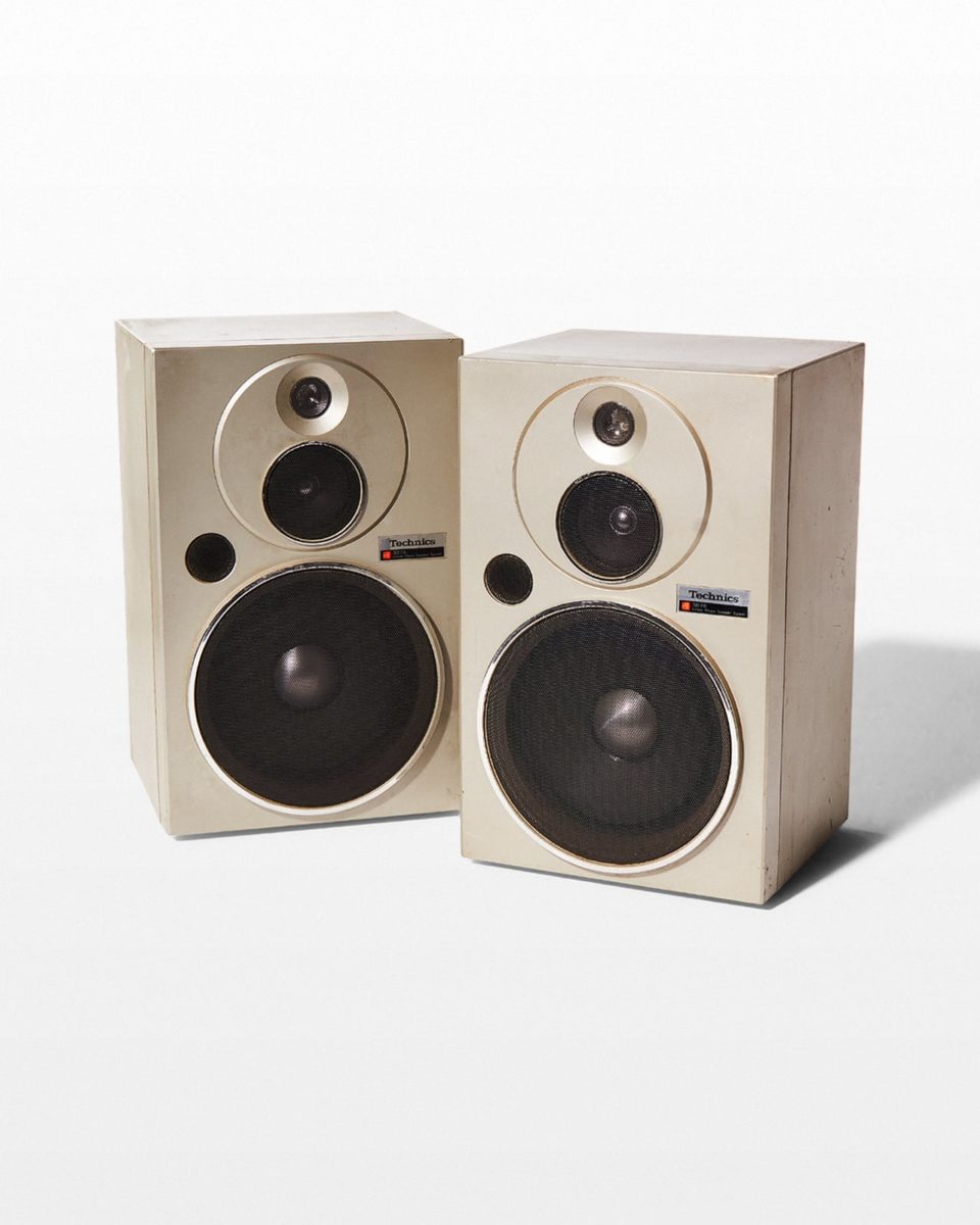 Front view of Bolo Bookshelf Speaker Pair