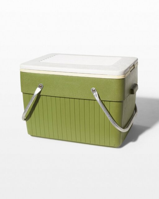 Front view of Remy Olive Green Cooler