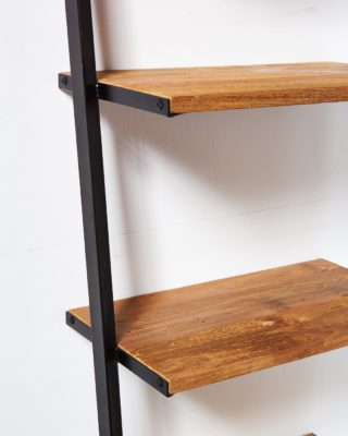 Alternate view 1 of Chaz Reclaimed Teak Leaning Bookshelf
