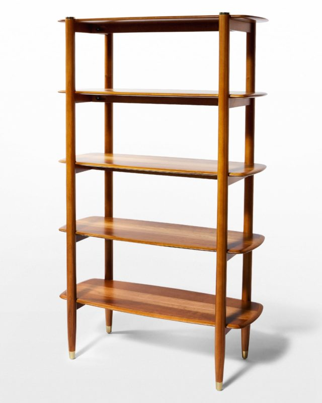 Front view of Blake Shelving Unit