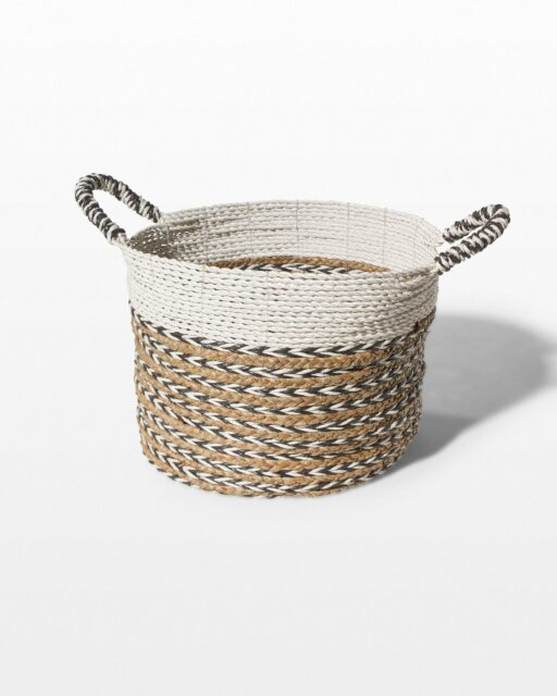 Front view of Coil Weave Basket
