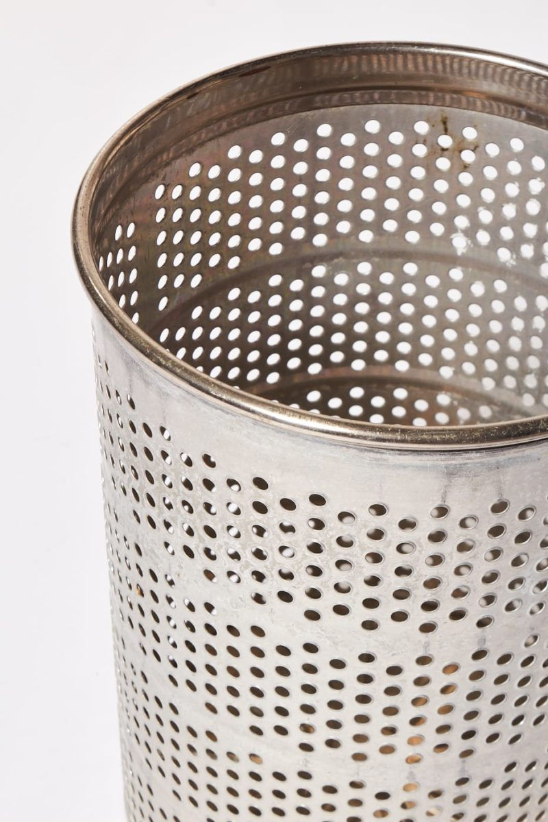 Alternate view 1 of Industrio Perforated Rubbish Bin