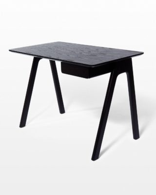 Front view of Oscar Graphite Desk