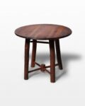 "Front view thumbnail of Match 24"" Wooden Accent Table"