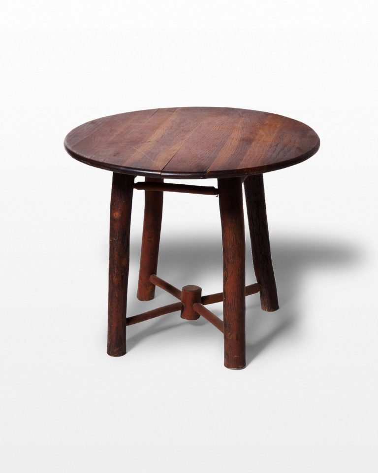 "Front view of Match 24"" Wooden Accent Table"