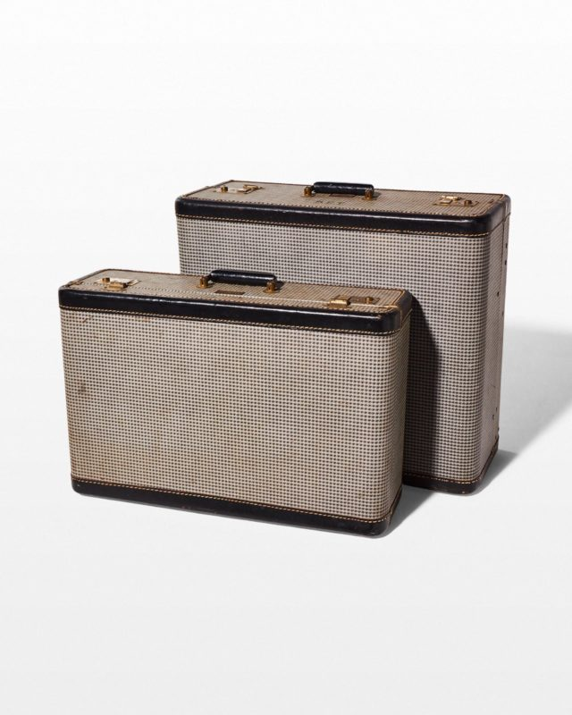Front view of Dorian Luggage Pair