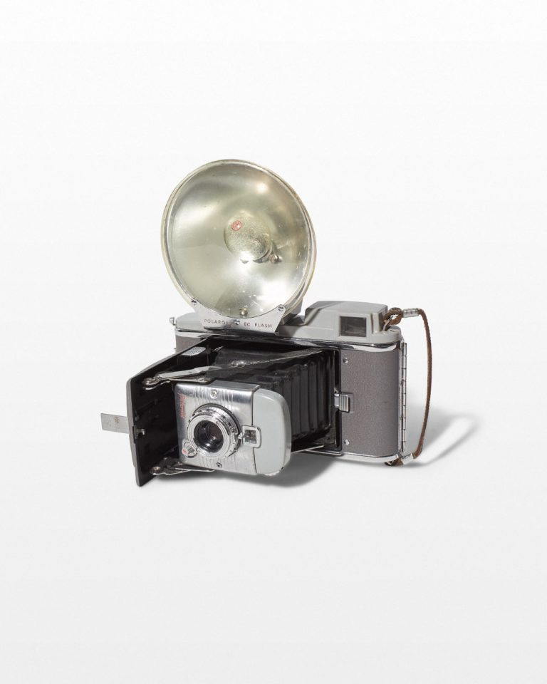 Front view of Polaroid Highlander 80A Camera With Flash