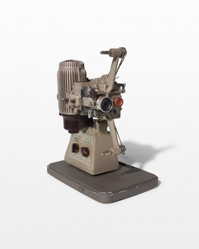 Front view of Kubo 16mm Film Projector