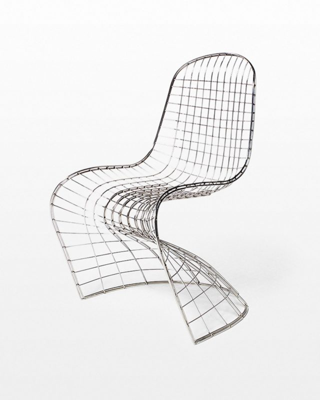 Front view of Bart Mesh Scoop Chair