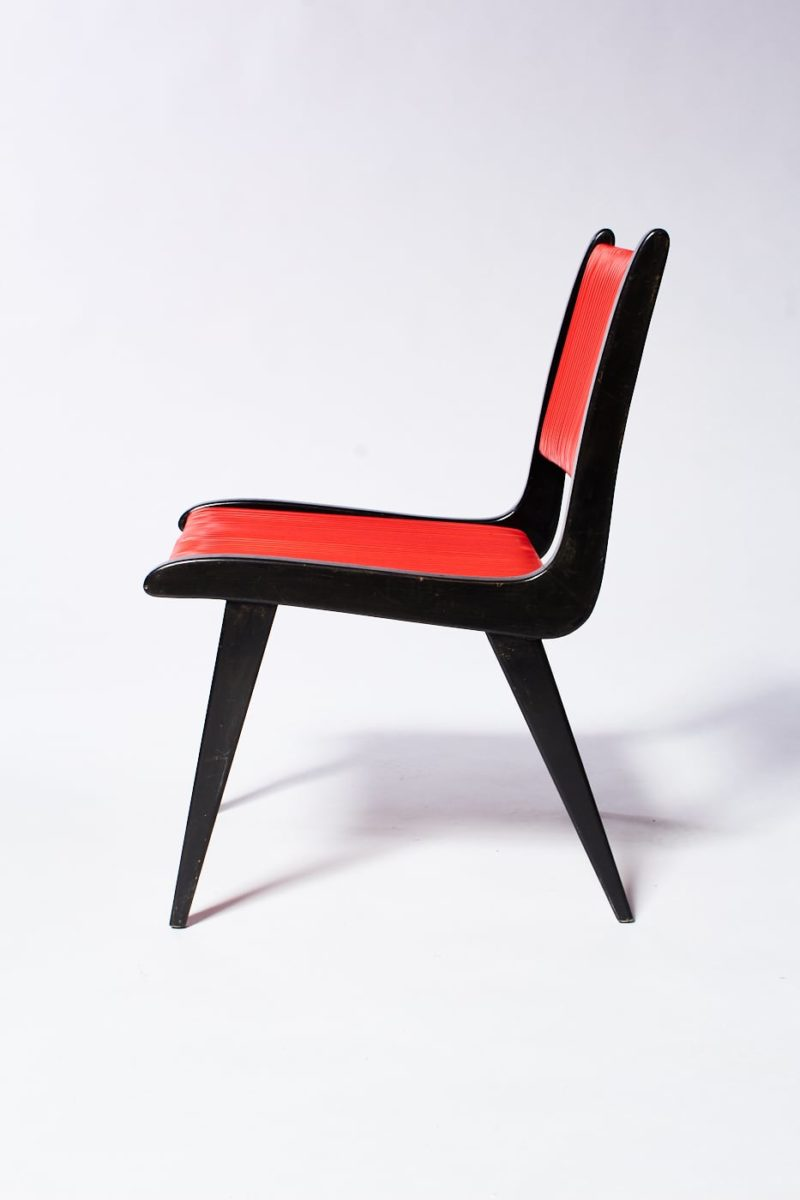 Alternate view 3 of Rojo Black and Cord Chair