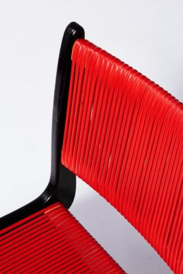 Alternate view 1 of Rojo Black and Cord Chair
