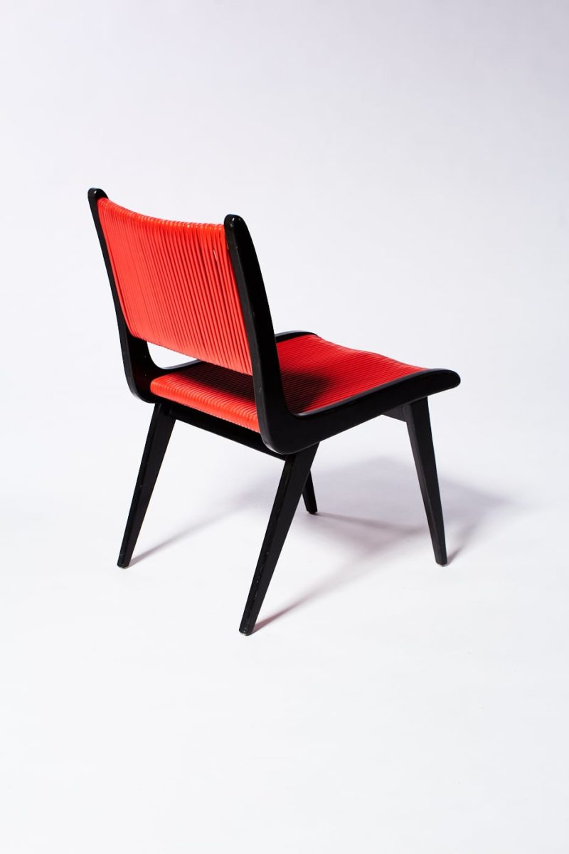 Alternate view 4 of Rojo Black and Cord Chair