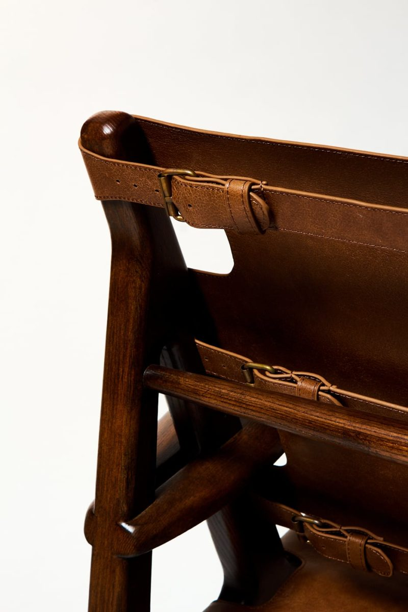 Alternate view 4 of Alejandro Leather Sling Chair