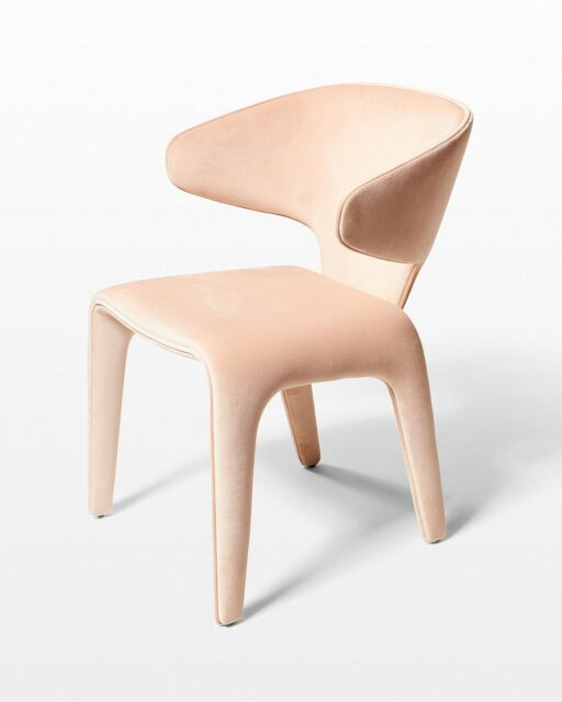 Front view of Pala Velvet Chair