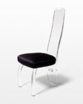 Front view thumbnail of Luigi Lucite Dining Chair