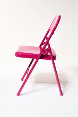 Alternate view 2 of Fuscia Folding Chair