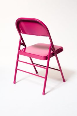 Alternate view 3 of Fuscia Folding Chair