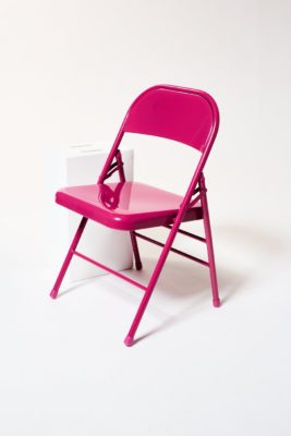 Alternate view 1 of Fuscia Folding Chair