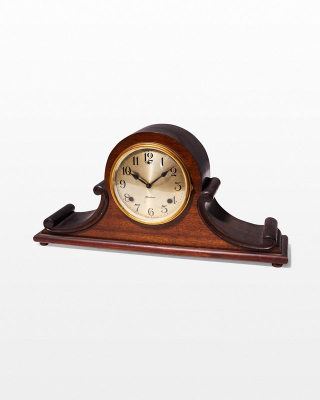 Front view of Cullen Mantle Clock
