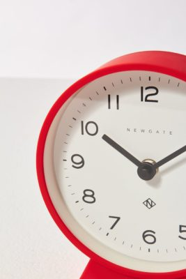 Alternate view 1 of Fimbo Red Mantle Clock