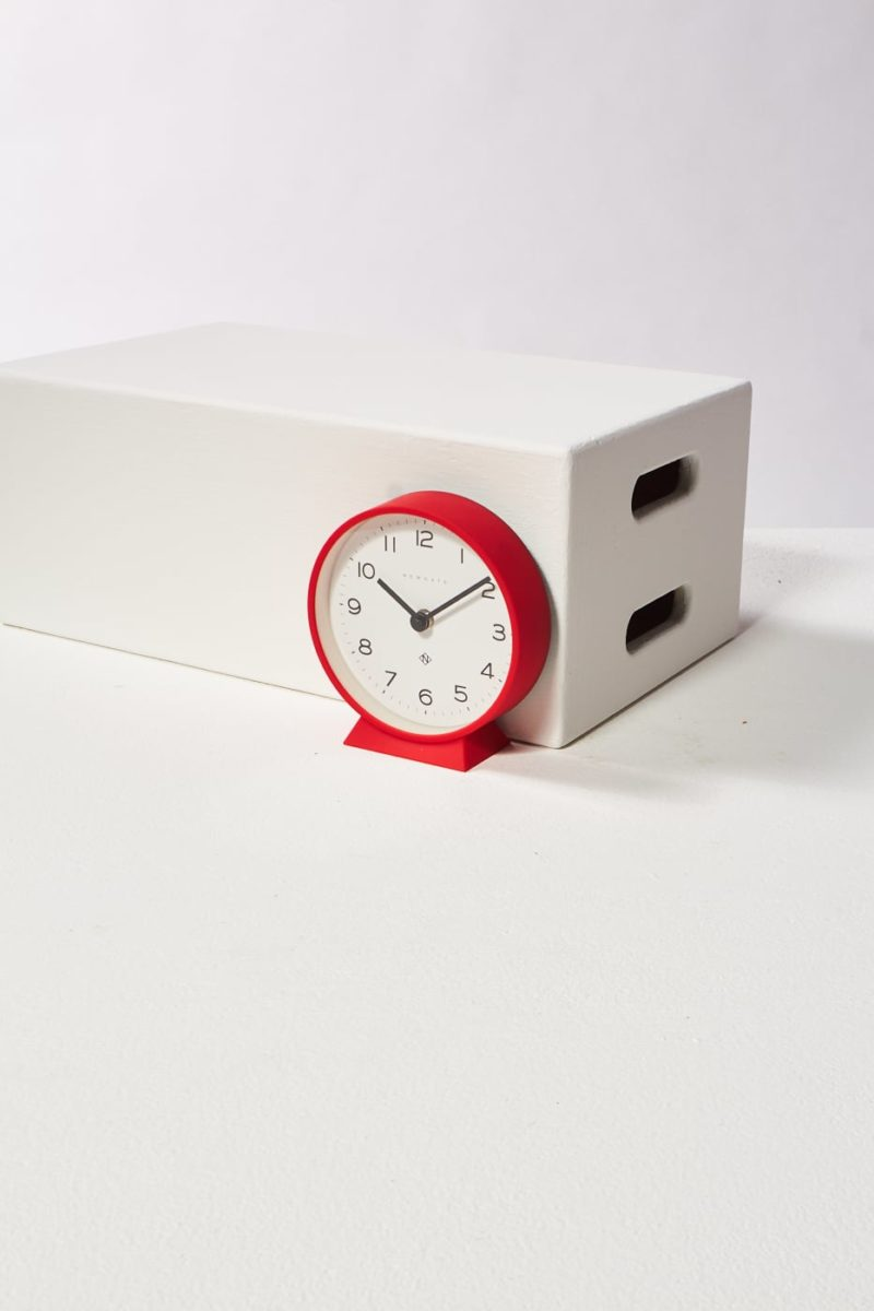 Alternate view 4 of Fimbo Red Mantle Clock