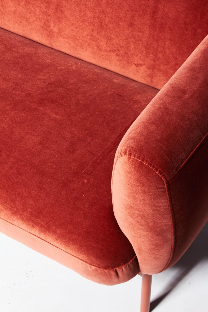 Alternate view 1 of Roma Velvet Sofa