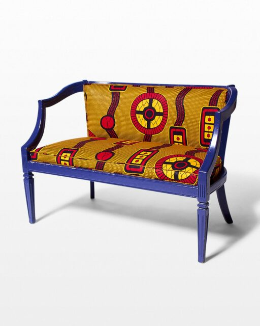 Front view of Komikka Settee Bench