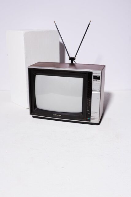 Alternate view 2 of Taylo Television with Antenna
