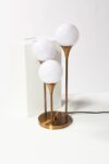 Alternate view thumbnail 2 of Colonnade Brass Globe Table Lamp
