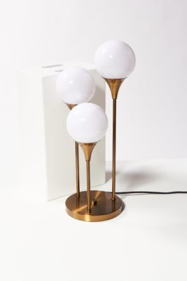 Alternate view 2 of Colonnade Brass Globe Table Lamp