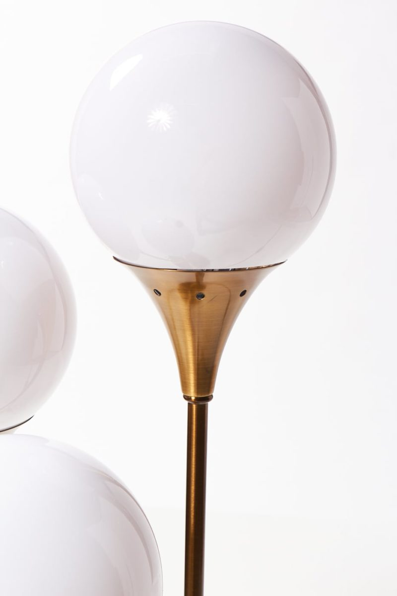 Alternate view 1 of Colonnade Brass Globe Table Lamp