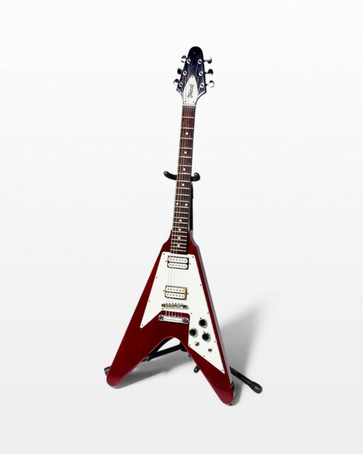 Front view of Boomerang Electric Guitar