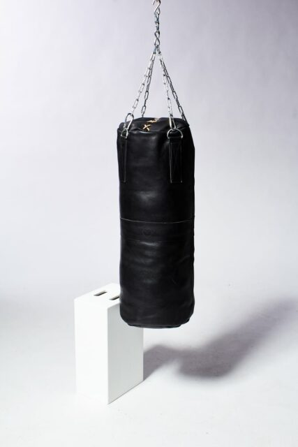 Alternate view 2 of Clay Black Leather Punching Bag