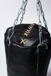 Alternate view thumbnail 1 of Clay Black Leather Punching Bag