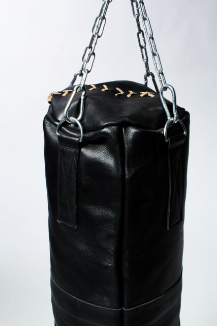 Alternate view 3 of Clay Black Leather Punching Bag