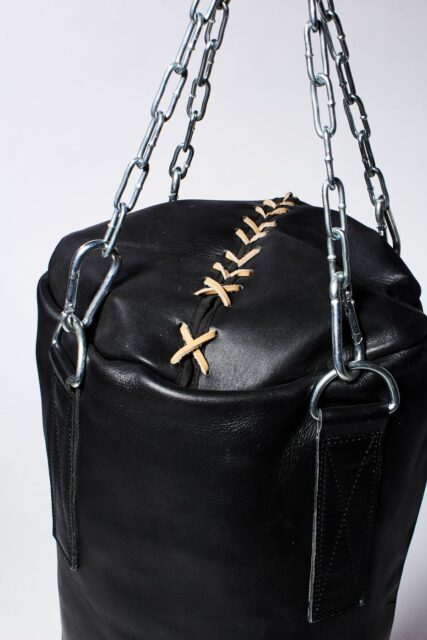 Alternate view 1 of Clay Black Leather Punching Bag