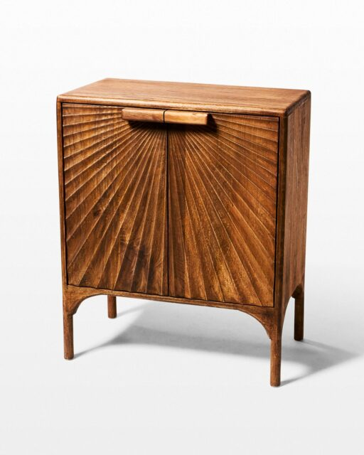Front view of Cedro Cabinet