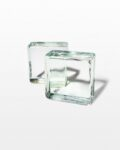 Front view thumbnail of Bloc Glass Bookend Object