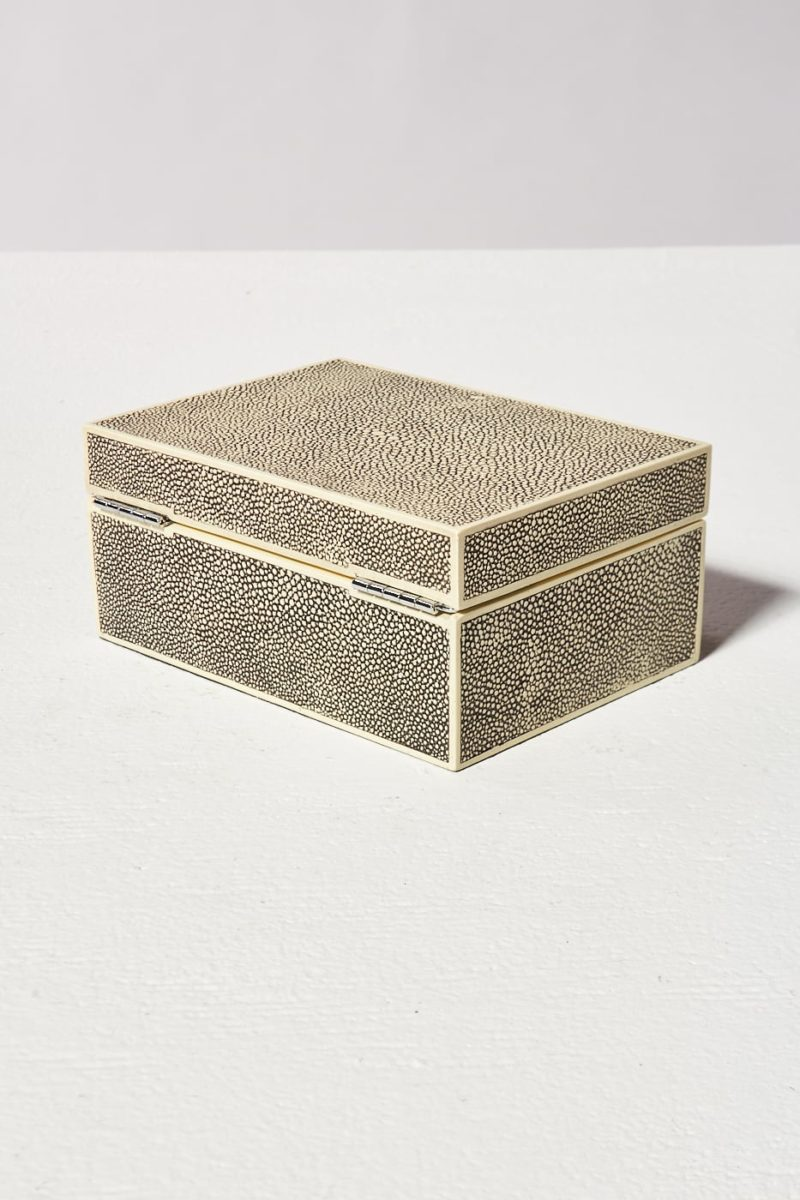 Alternate view 4 of Shah Shagreen Jewelry Box