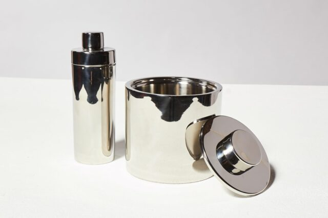 Alternate view 2 of Martini Stainless Steel Shaker and Ice Bucket Duo