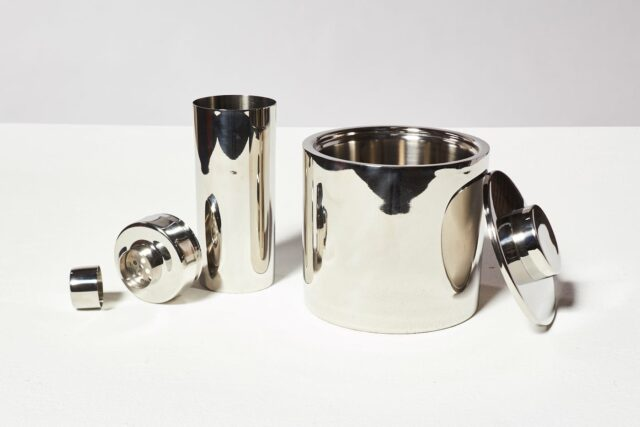 Alternate view 1 of Martini Stainless Steel Shaker and Ice Bucket Duo