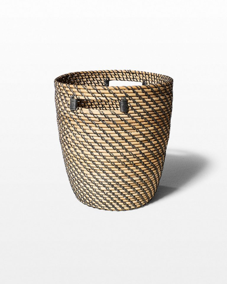 "Front view of Cardiff 12"" Basket"